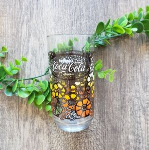 $12 add on 🌼 Vintage 70s Coca-Cola Drinking Glass